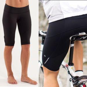 RARE Lululemon presta padded biker cycling shorts